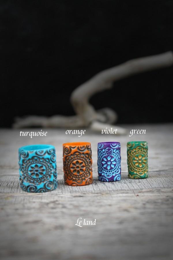 Dreadjewelry Dread Bead Dreadschmuck Dread Perle Handmade