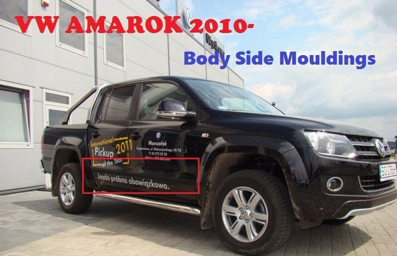 Volkswagen Amarok Body Cladding Side Molding Guard