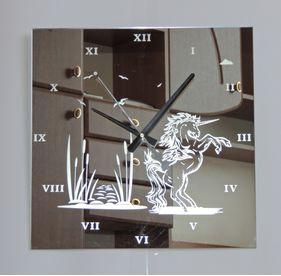 Modern Wall Clock Unicorn