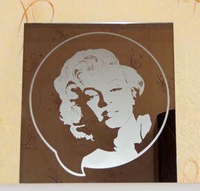 Monroe Modern Style Decorative Art Mirror Picture
