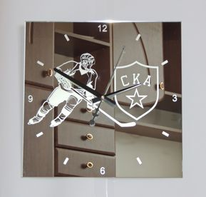 Hockey SKA Design Wall Clock Modern Interior