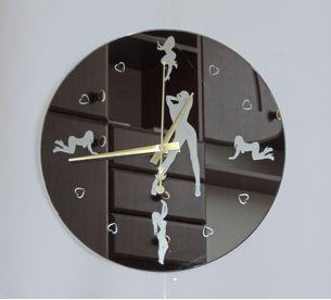 Sexy Lady Modern Design Wall Clock