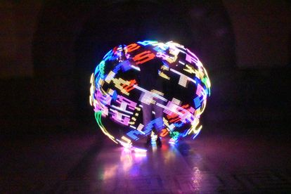 cyr wheel led